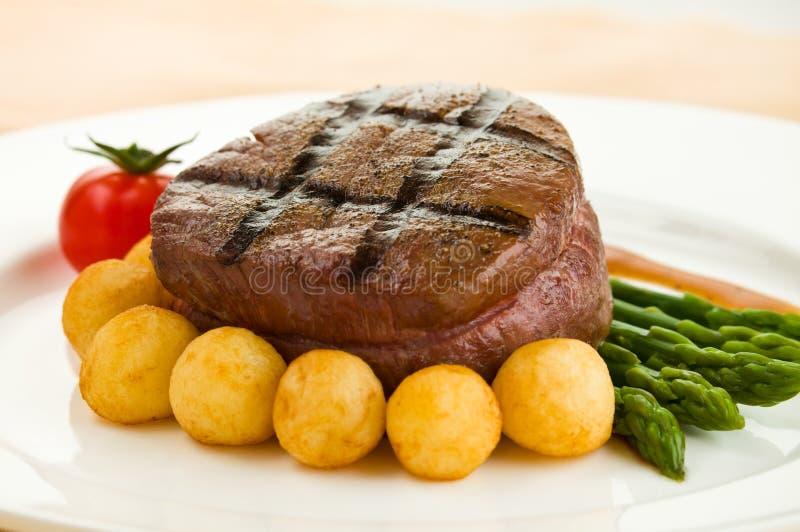 Tenderloin steak royalty free stock photos