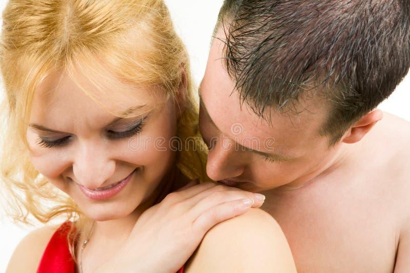 Download Tenderness stock image. Image of affection, amor, girl - 10495231
