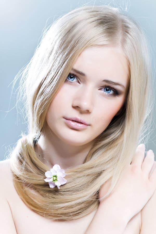 Download Tenderness stock image. Image of innocent, looking, hair - 22039995