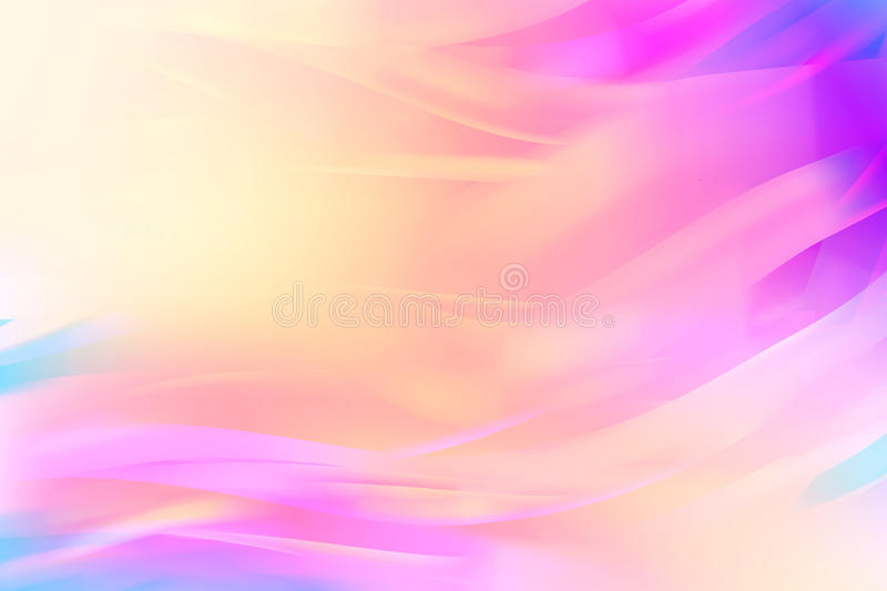Tenderness abstract background. Wavy abstract background. EPS 10 vector illustration. Used meshes and transparency layers royalty free illustration