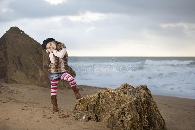 Download Tenderness beach stock image. Image of cliff, creek, sand - 36001641