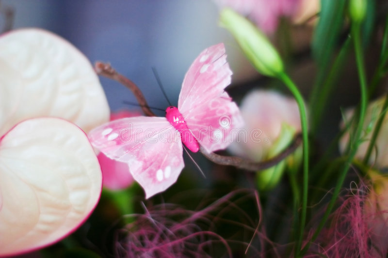 Tenderness in a bouquet stock photography