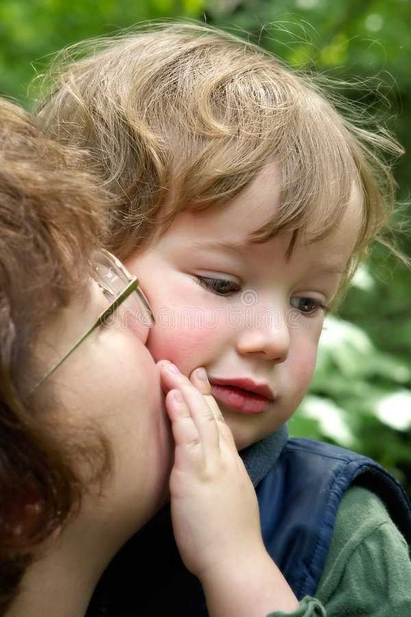 Tenderness to the child