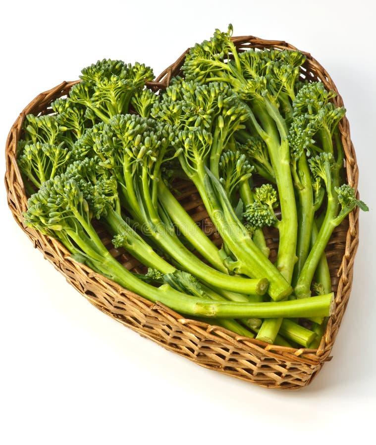 Tenderstembroccoli stock afbeeldingen