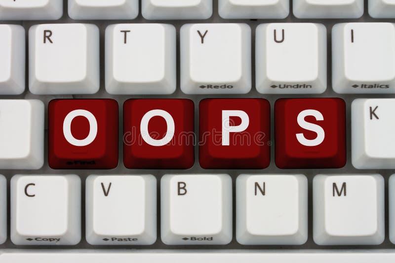 Tendo problemas com seu computador fotos de stock
