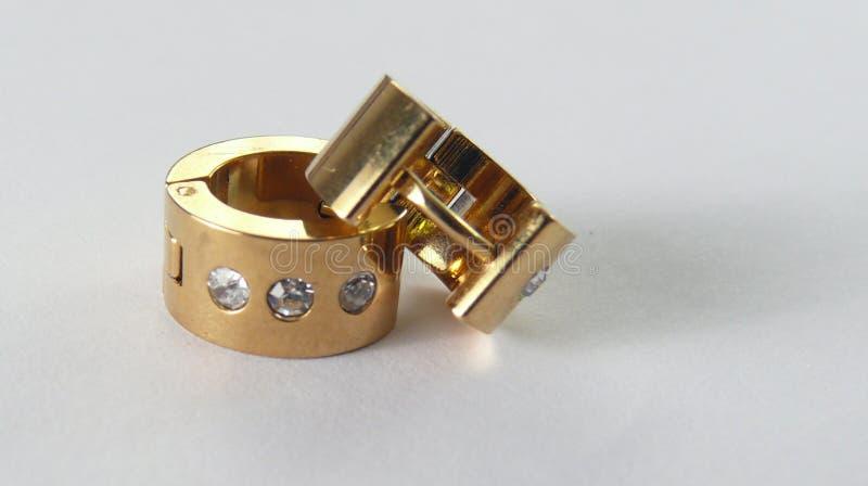 Tendrils or earings royalty free stock image