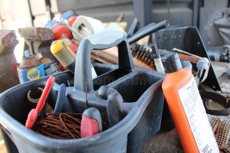 Tenedor de herramienta imagen de archivo