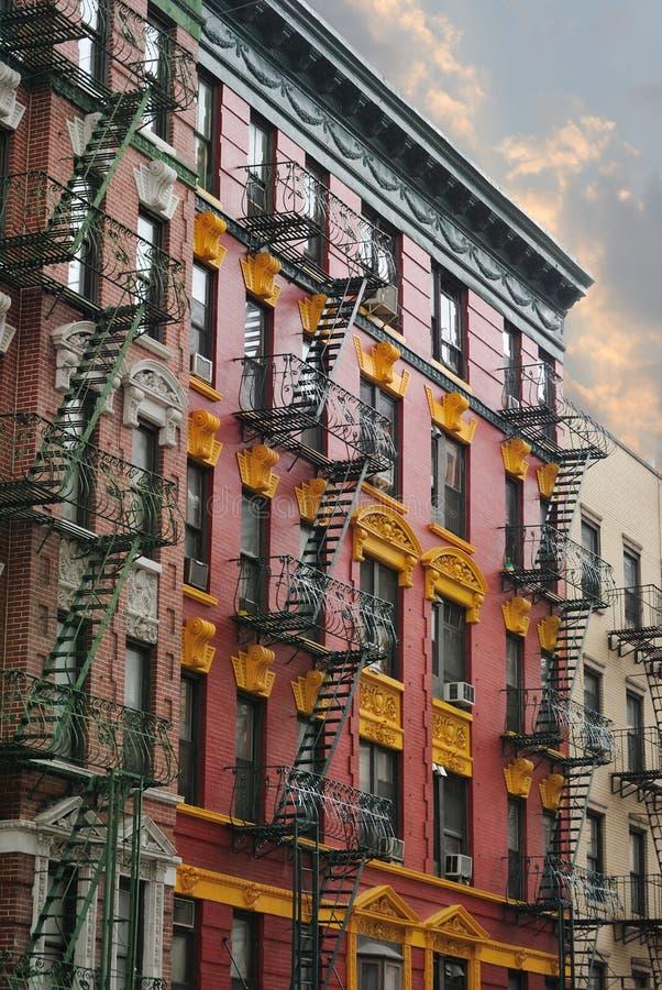 tenement зданий стоковые фото