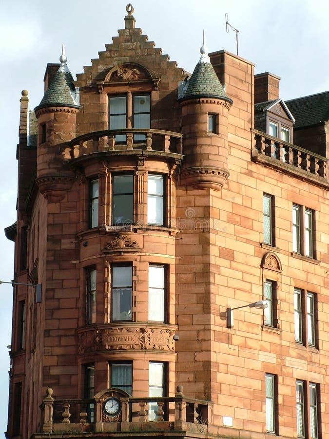 Tenement de Glasgow imagem de stock royalty free