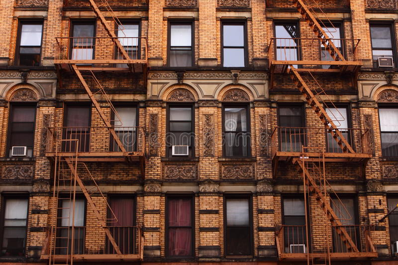 Tenement em Manhattan foto de stock royalty free