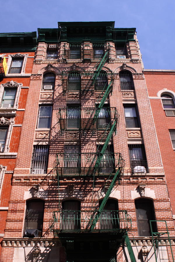 Download Tenement In Manhattan Royalty Free Stock Photos - Image: 14165458
