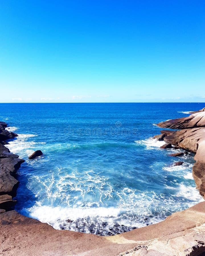 Tenerife Ατλαντικός Ωκεανός στοκ φωτογραφίες