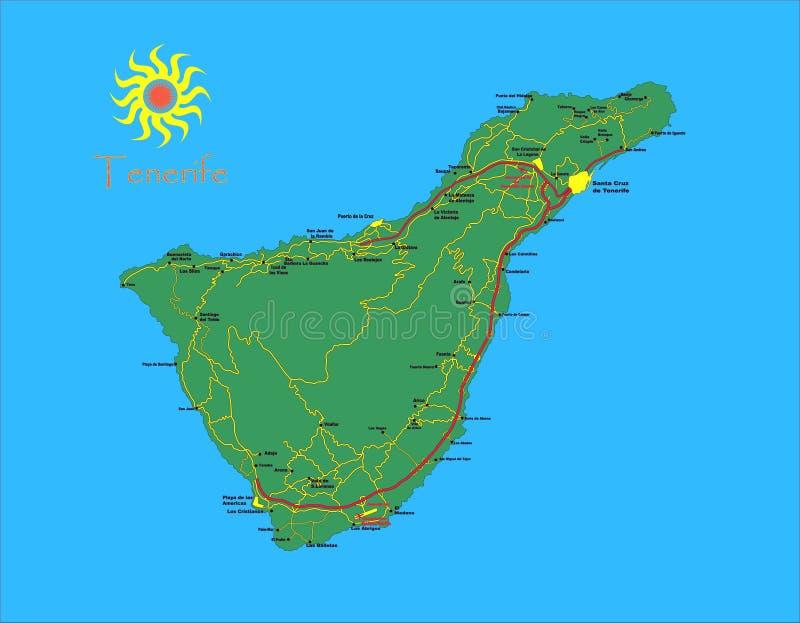 Download Tenerife zdjęcie stock. Obraz złożonej z ocean, chmury - 17583140