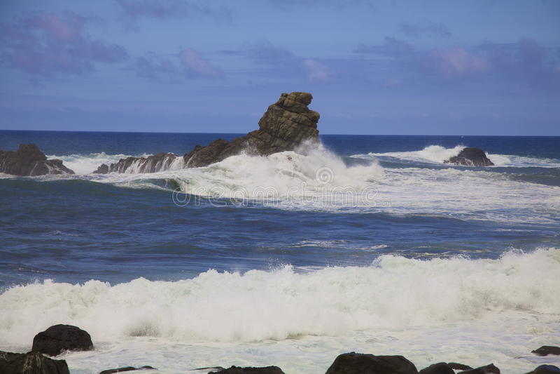 Tenerife-Ansicht lizenzfreie abbildung