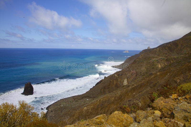 Tenerife-Ansicht stock abbildung