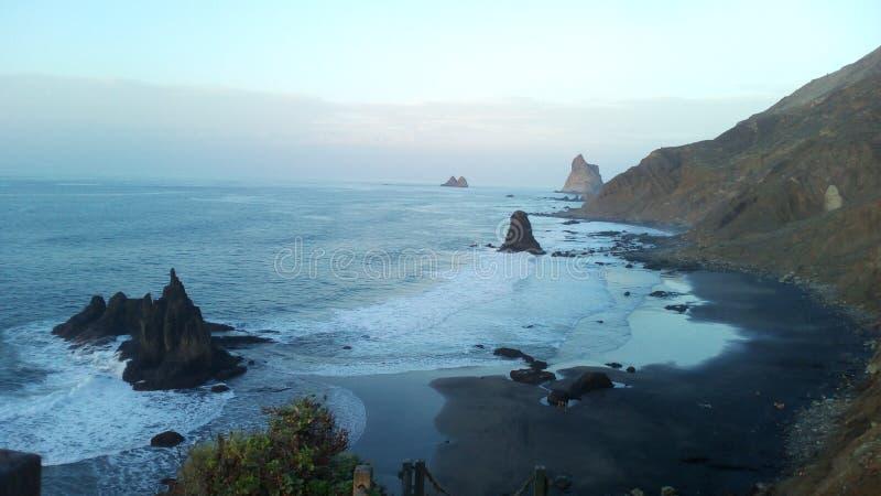 Tenerife beach stock photography