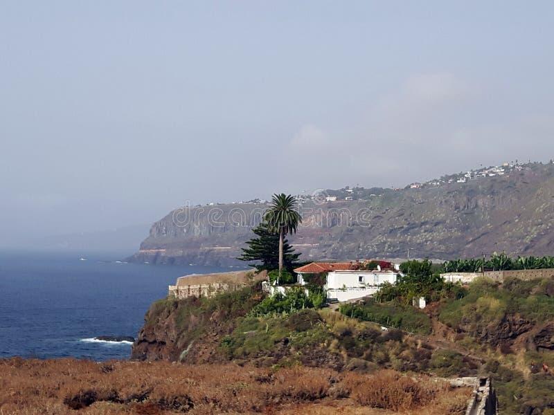 Tenerife cerca de Puerto de la Cruz imágenes de archivo libres de regalías