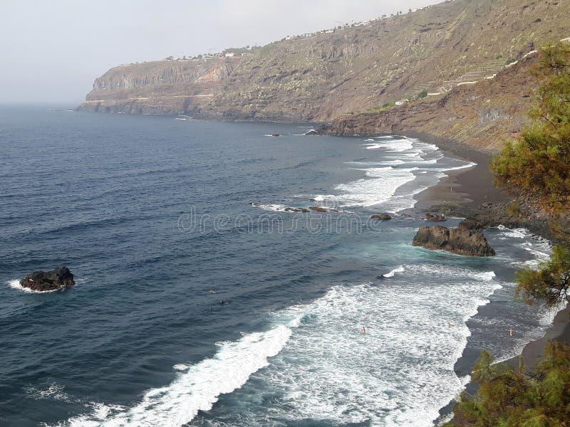Tenerife cerca de Puerto de la Cruz foto de archivo libre de regalías