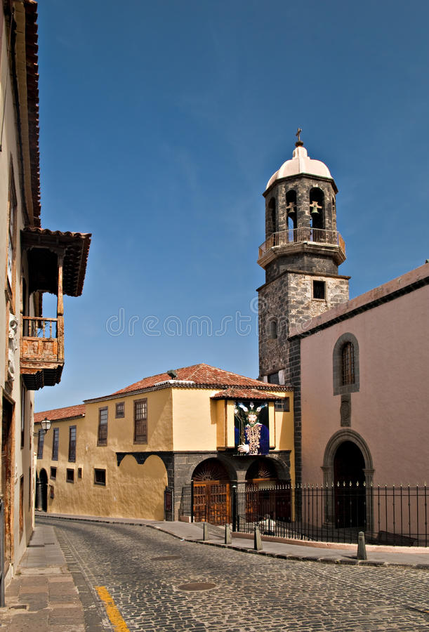 Download Tenerife church stock image. Image of canary, ancient - 22331495
