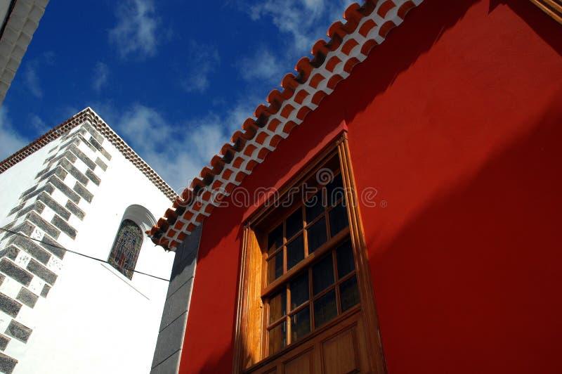Tenerife-Dach 3 Stockbild