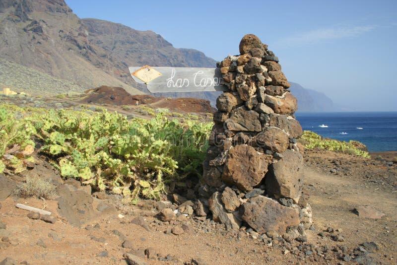 Tenerife Faro de Teno fotos de archivo