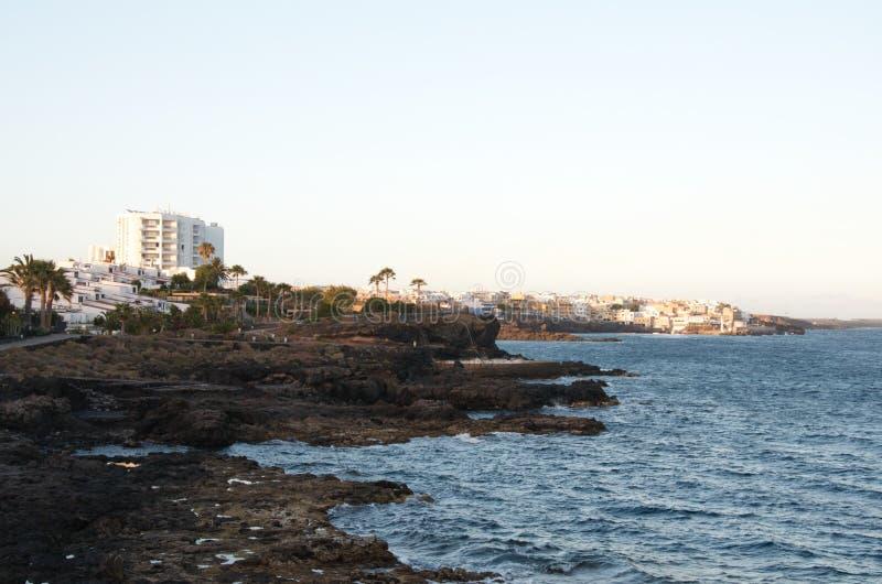 Tenerife golfe del sur imagem de stock royalty free