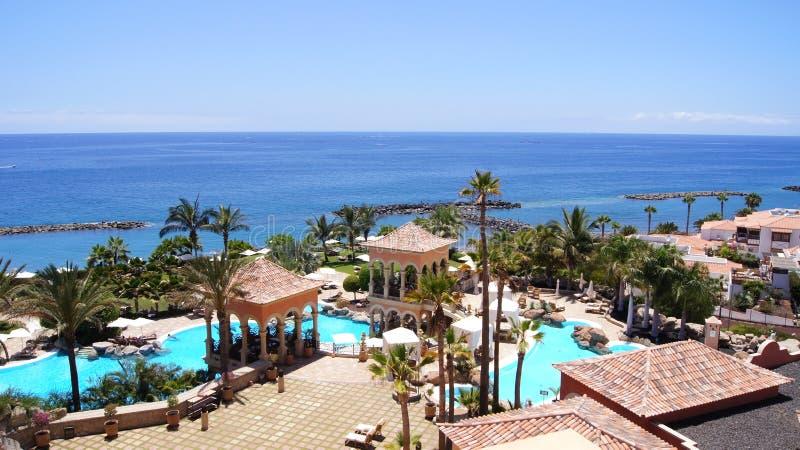 Tenerife luxury hotel stock photography