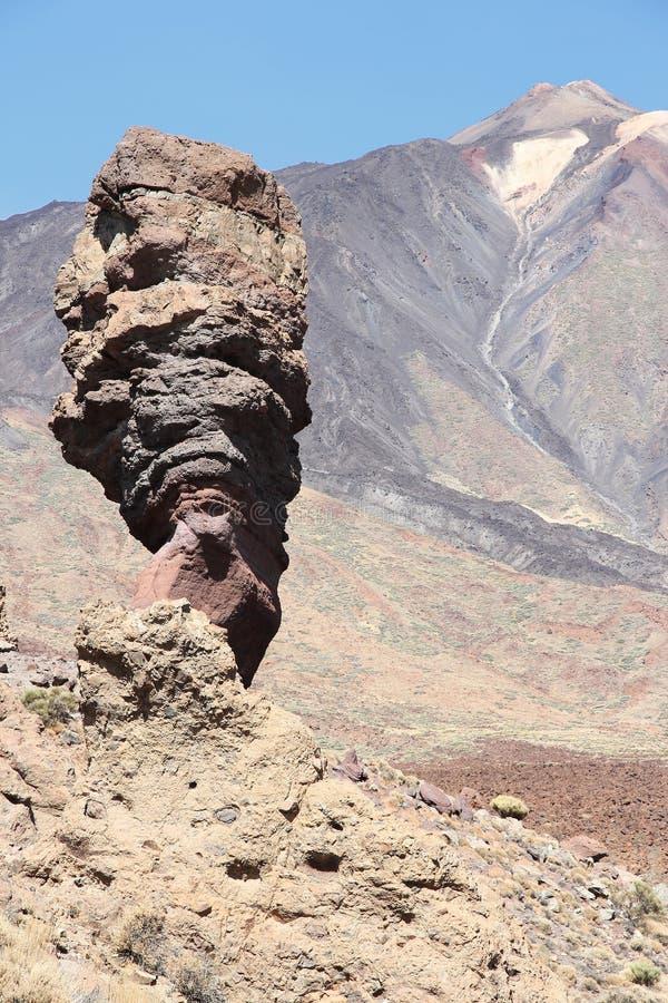 Tenerife - palec bóg obrazy royalty free