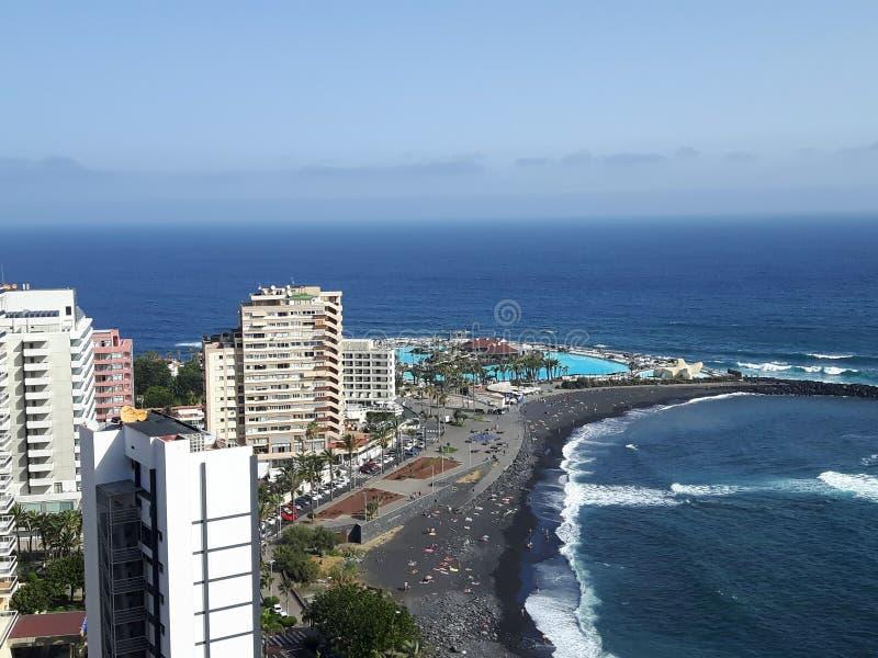Tenerife Puerto Cruz foto de archivo