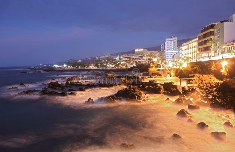 Tenerife - Puerto de la Cruz stockfotos