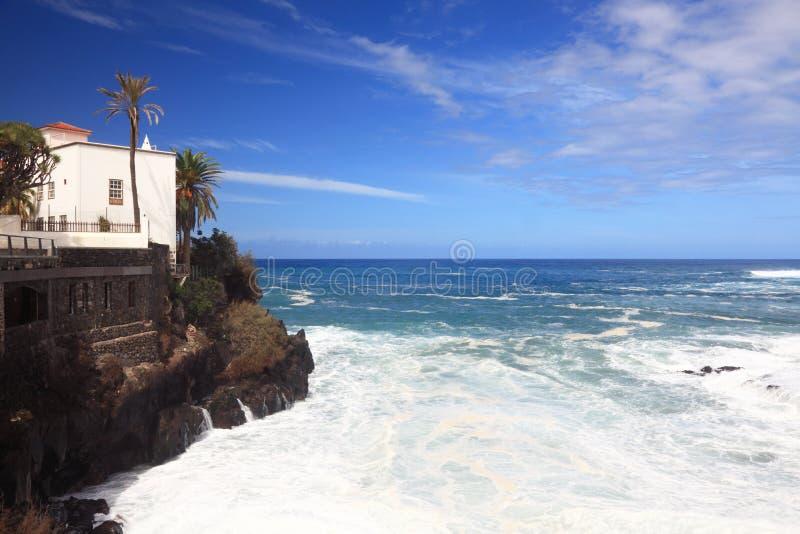 Tenerife - Puerto de la Cruz stockbilder