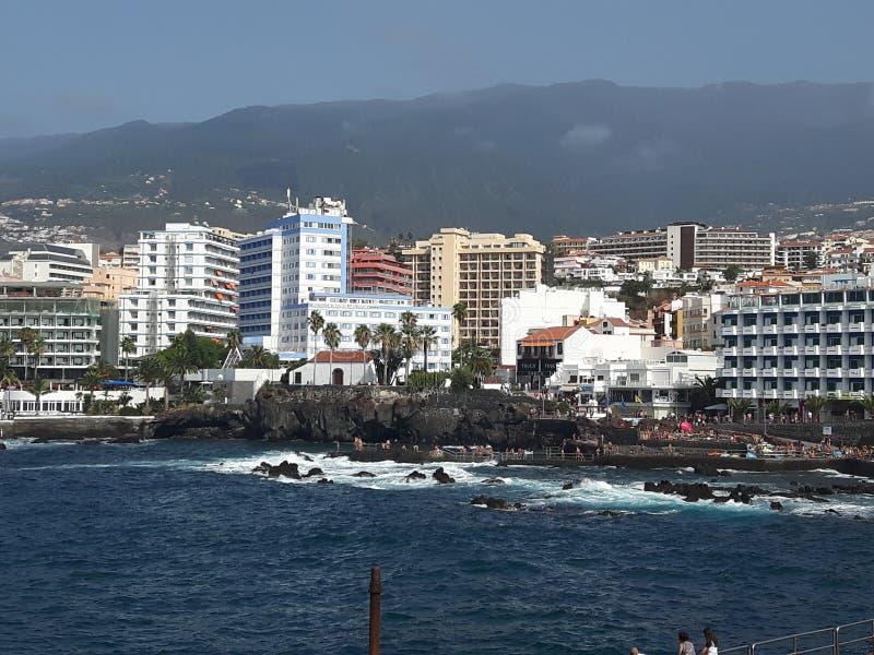 Tenerife Puerto de la Cruz foto de stock royalty free