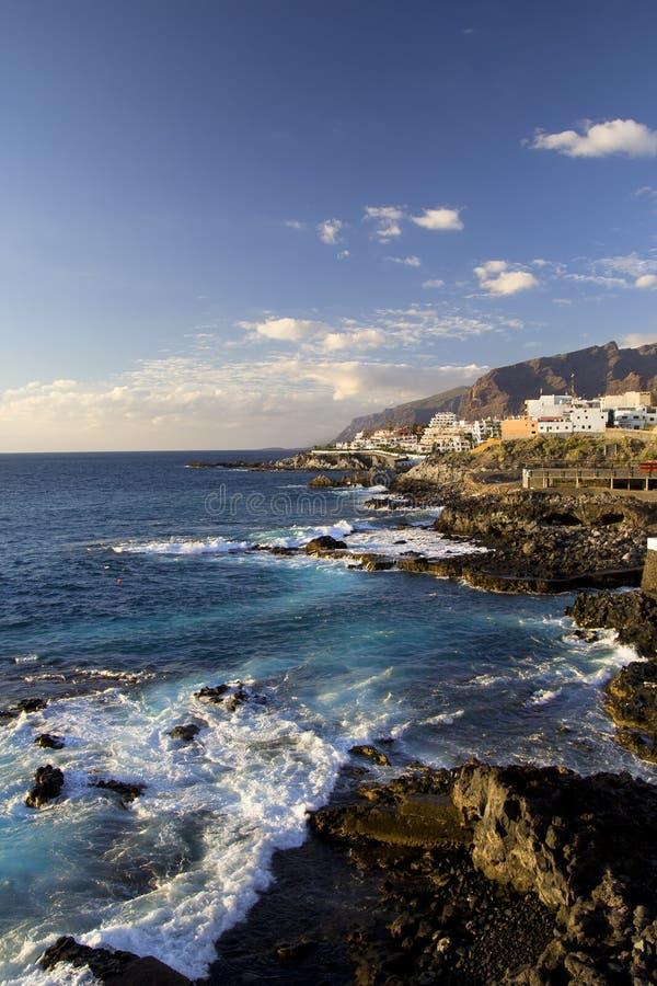 Tenerife Shore Scenery Royalty Free Stock Photography