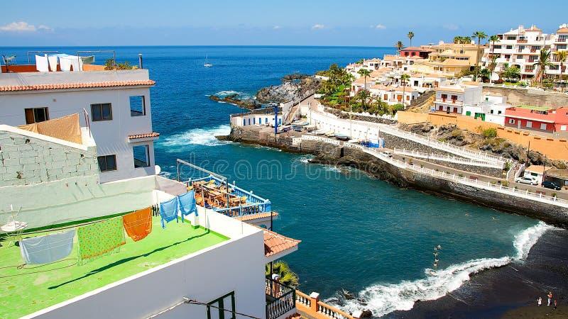 Tenerife sjösida royaltyfri bild