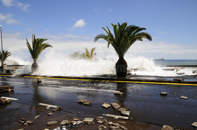 Download TENERIFE, SPAIN - AUGUST 29: Flooding Editorial Image - Image: 20929650