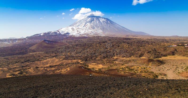 Tenerife Teide nationalpark royaltyfria foton