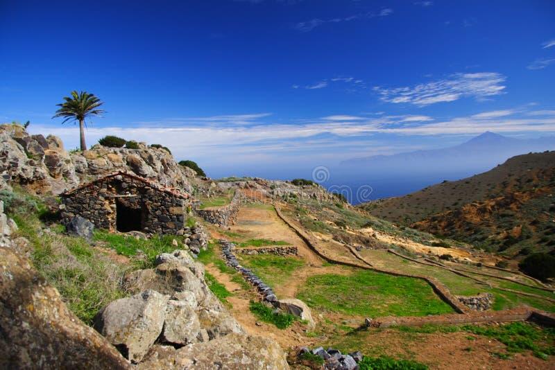 Tenerife und Gomera lizenzfreies stockfoto