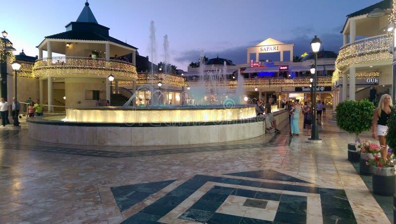 Tenerife vattensärdrag royaltyfri fotografi