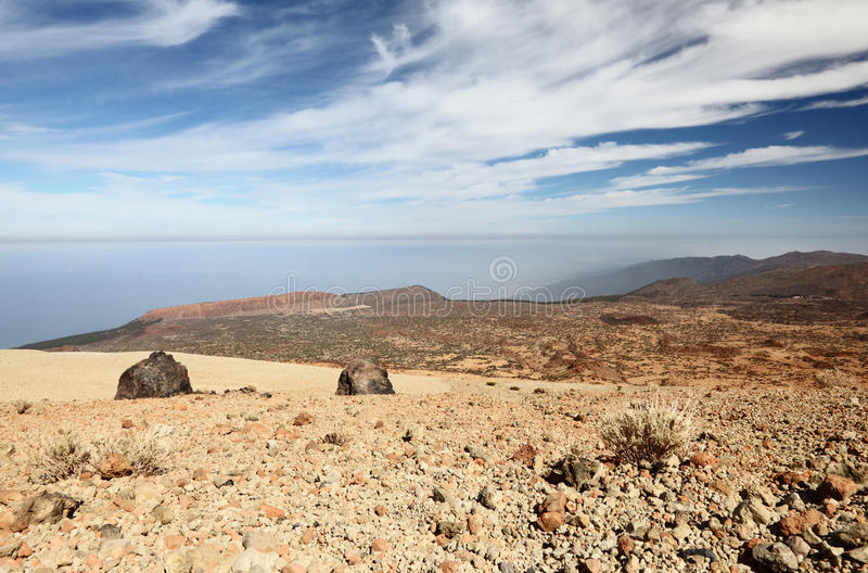 Tenerife - view from Teide