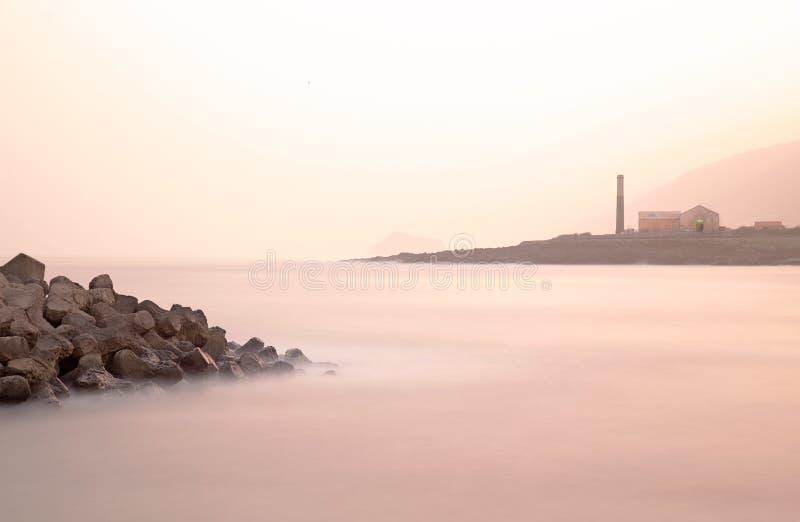 Tenerife wschód słońca zdjęcia royalty free