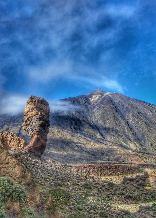 Teneriffa - Berg Teide-Landschaft lizenzfreies stockbild
