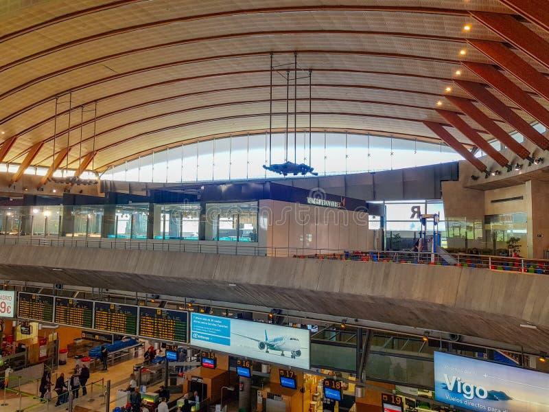 Teneriffa, Kanarische Insel, Spanien; Am 3. Dezember 2018: Innenbild von Flughafen Teneriffas Norte stockbild