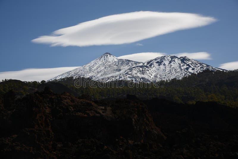 Teneryfa Insel Wyspy Kanaryjskie do vulcão de Teide imagens de stock