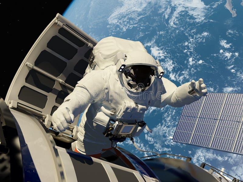 Tenga acceso al espacio. libre illustration