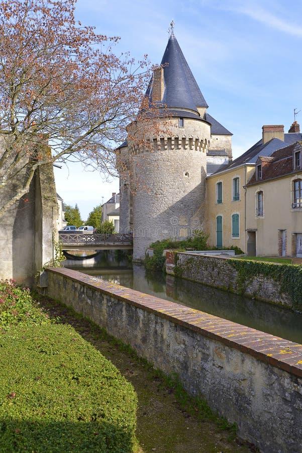 Tenga a La-Ferté-Bernar'in Francia immagine stock
