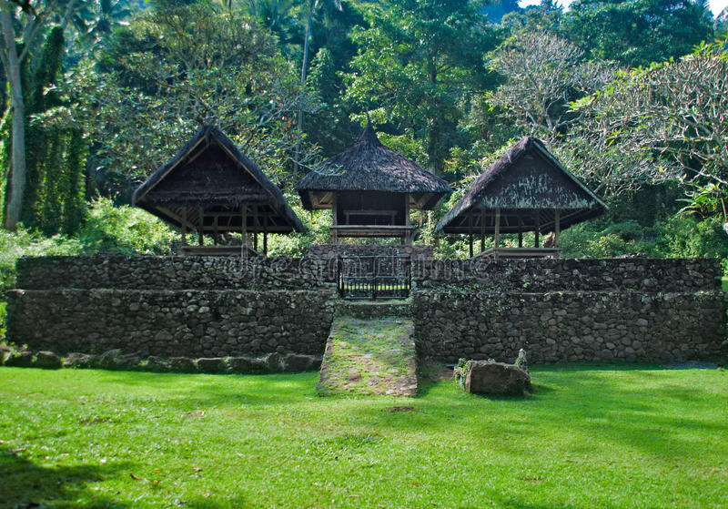 Tenganan-Dorf Bali lizenzfreie stockfotos