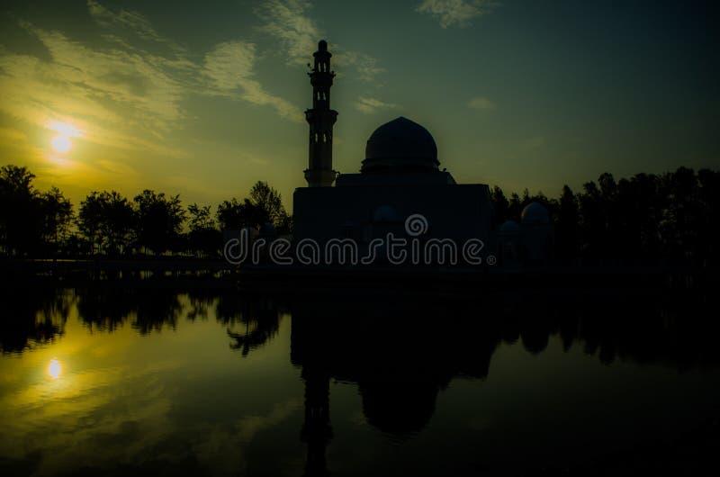 Tengku Tengah Zaharah Moschee stockbilder