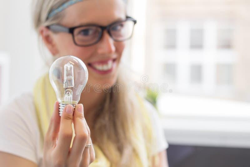 ¡Tengo una idea brillante! fotos de archivo