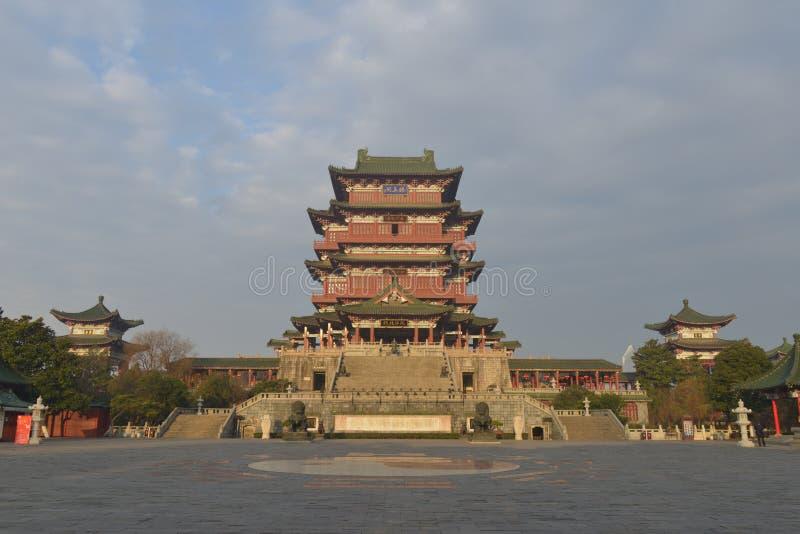 Tengwang-Pavillon in Nanchang, Jiangxi Provinz, China lizenzfreie stockfotos