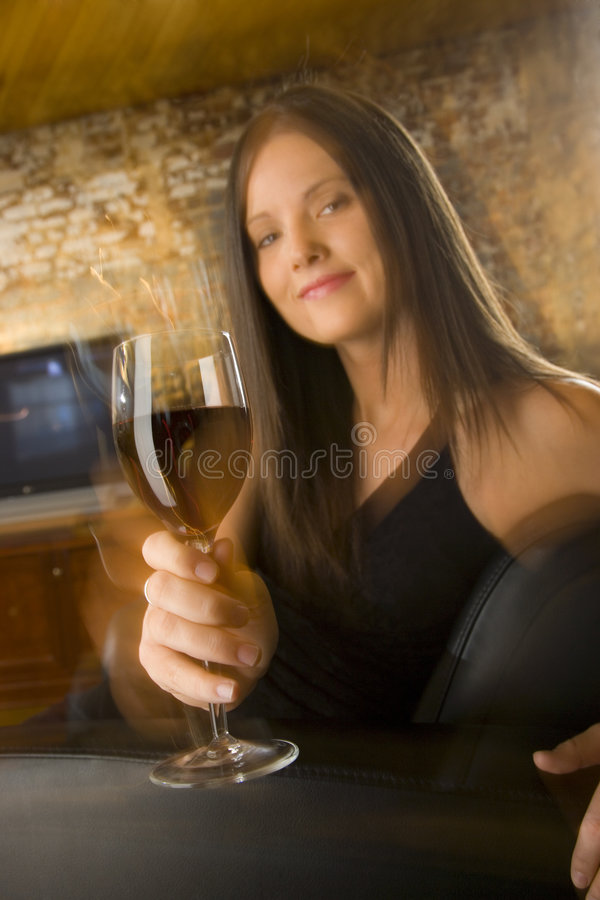Tenha algum vinho fotografia de stock royalty free